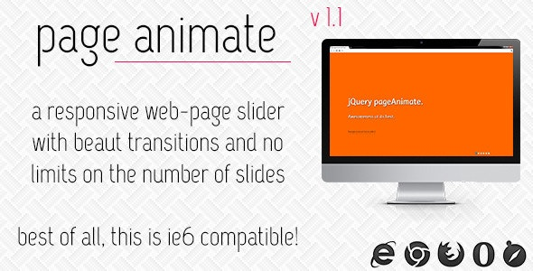 pageAnimate Web-Page Slider - CodeCanyon Item for Sale