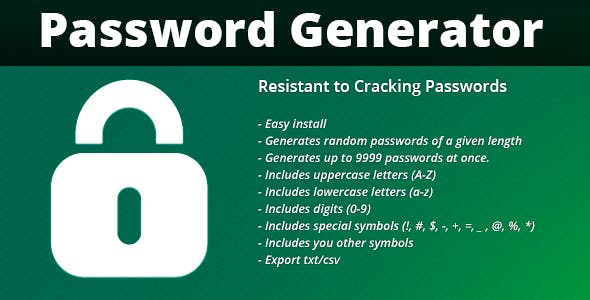 FPG Password and Serial Key Generator