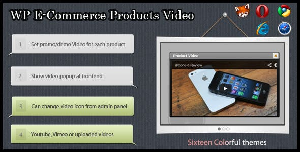 WP e-Commerce  Products Video