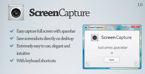 ScreenCapture - Takes full screen captures - CodeCanyon Item for Sale