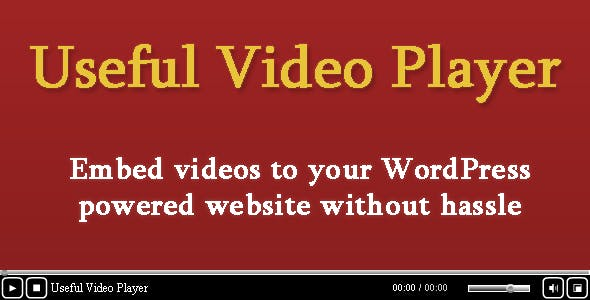 Useful Video Player