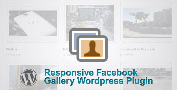 Responsive Facebook Albums Gallery