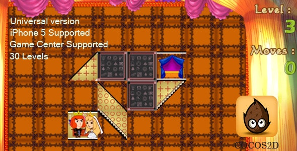 iOS Game:Girl's Puzzle - Cocos2D - CodeCanyon Item for Sale
