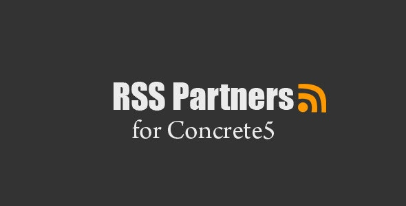 RSS Partners - Concrete5 RSS Feeds - CodeCanyon Item for Sale