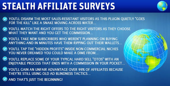 Stealth Affiliate Surveys