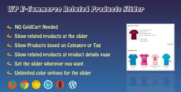 WP e-Commerce Related Products Slider