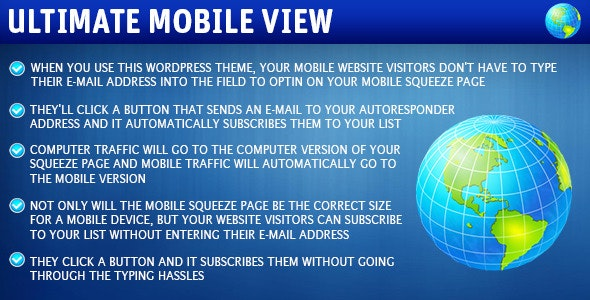 Ultimate Mobile View - CodeCanyon Item for Sale