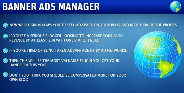 Banner Ad Manager - CodeCanyon Item for Sale