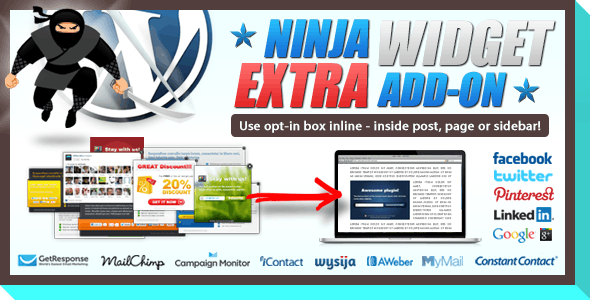 Ninja Widget Extra Add-on        Nulled