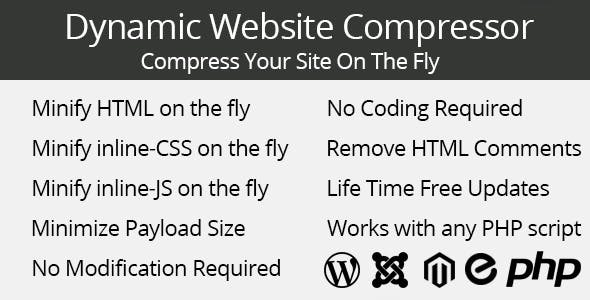 Dynamic Website Compressor        Nulled