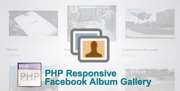 Simple PHP Facebook Album Gallery - CodeCanyon Item for Sale