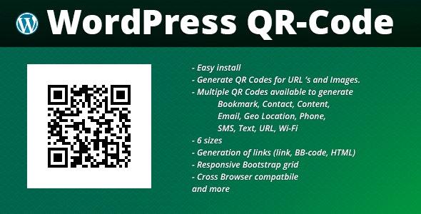 WordPress QR Codes - CodeCanyon Item for Sale