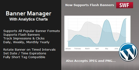 Banner Manager with Analytics for Wordpress