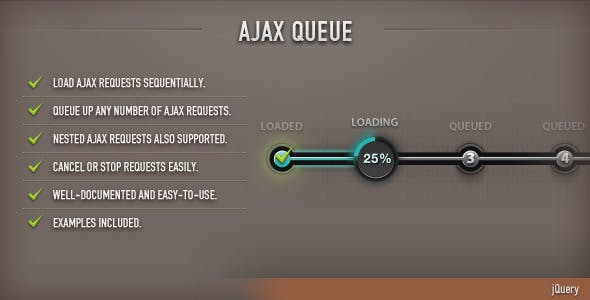 AJAX Queue (jQuery)