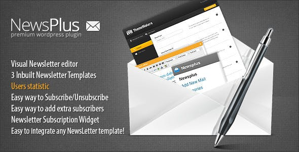 NewsPlus WP NewsLetter Plugin