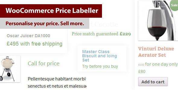 WooCommerce Price Labeller