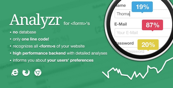 Analyzr - lower your  form >s drop rate - CodeCanyon Item for Sale