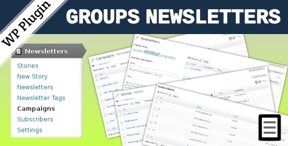 Groups Newsletters
