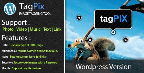 Wordpress TagPix - Image tagging tool - CodeCanyon Item for Sale