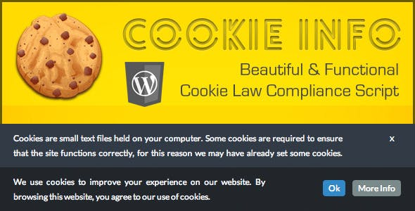 Cookie Info WP - Cookie Law Compliance Script