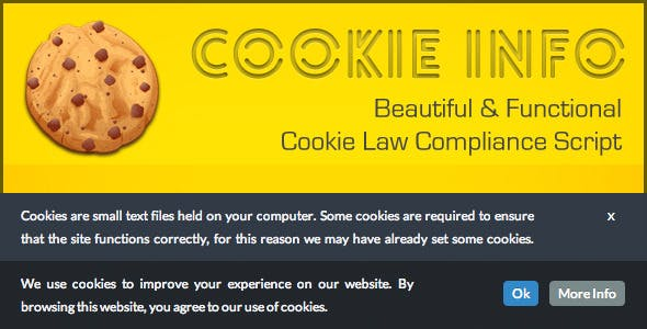 CookieInfo.js - EU Cookie Law Compliance Script