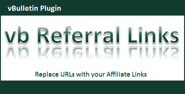 vBulletin Referral Links