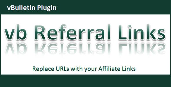 vBulletin Referral Links - CodeCanyon Item for Sale