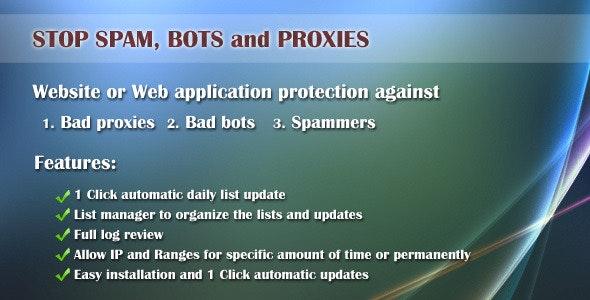 Bad proxy and bot ban - CodeCanyon Item for Sale