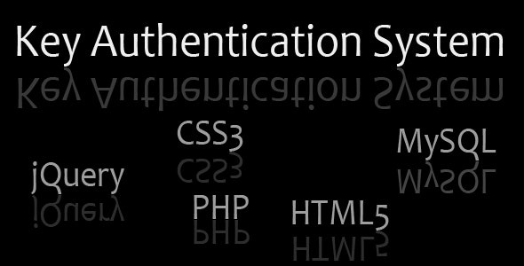 Key Authentication System - CodeCanyon Item for Sale