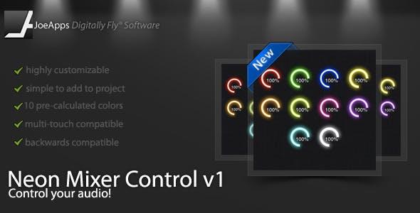 Neon Mixer Control