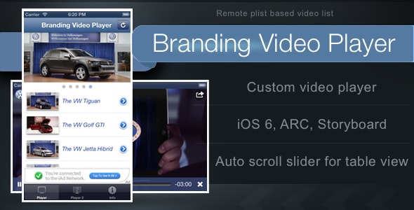 Branding Video Player - CodeCanyon Item for Sale