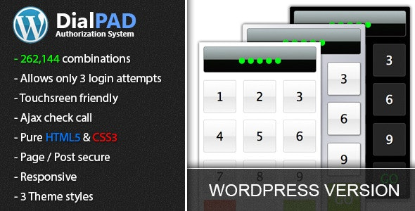 DialPAD - Authorization System - CodeCanyon Item for Sale
