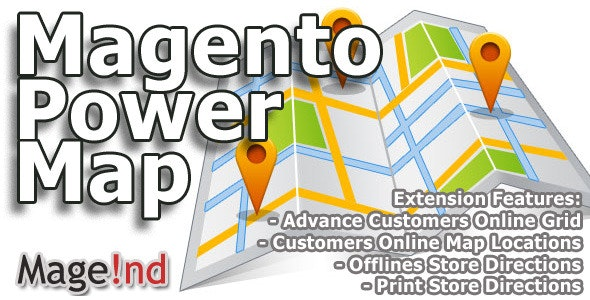Magento Power Map - CodeCanyon Item for Sale