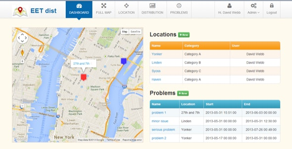 Zhen Distribution Maps - CodeCanyon Item for Sale