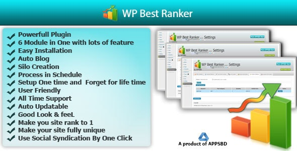 WP Best Ranker - CodeCanyon Item for Sale