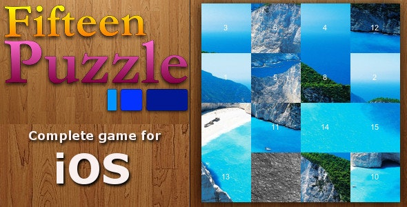 Fifteen Puzzle Game - CodeCanyon Item for Sale