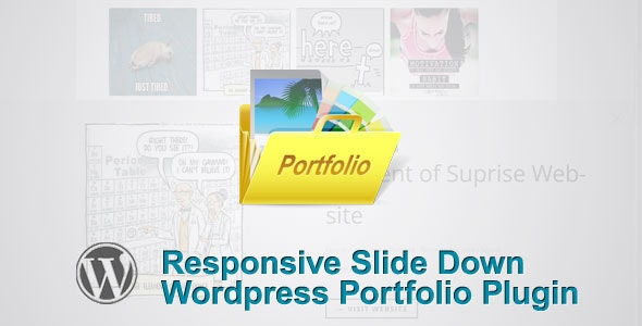 Responsive Slide Down Portfolio Plugin - CodeCanyon Item for Sale