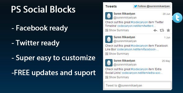 PS Social Blocks