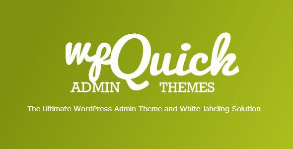 Light WP Admin Theme and White-Labeling Solution