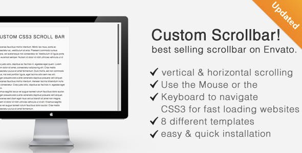 Customized Scrollbars