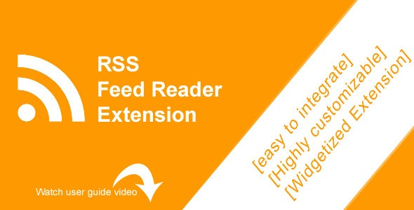 RSS Feed Reader - Magento Extension - CodeCanyon Item for Sale