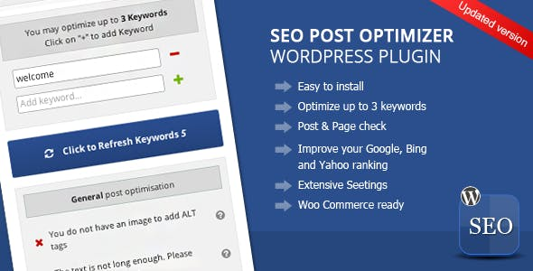 Wordpress SEO Post Optimizer