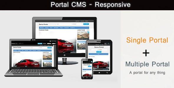 Portal CMS PHP Script
