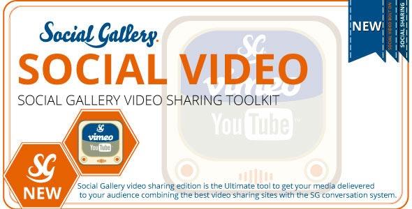 Social Gallery WordPress Video Viewer Plugin - CodeCanyon Item for Sale