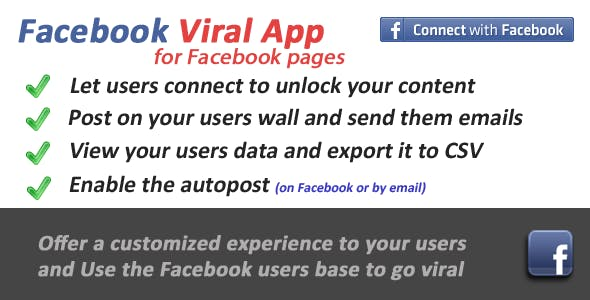 Facebook Viral for Fb Pages Tabs