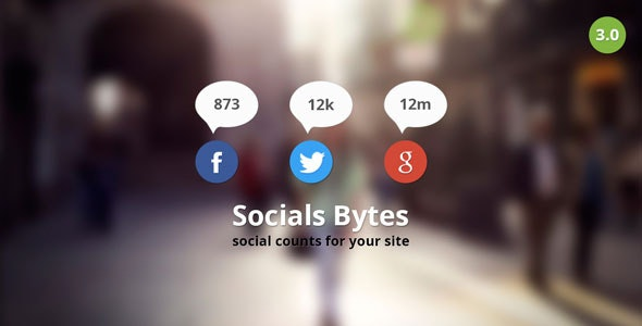 Socials Bytes WordPress Plugin - CodeCanyon Item for Sale