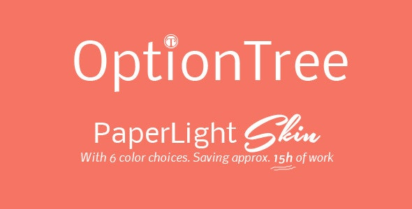 OptionTree PaperLight Skin