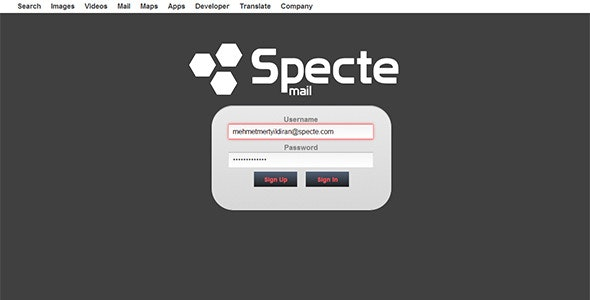 Specte Webmail Server and Interface - CodeCanyon Item for Sale