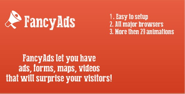 FancyAds Ads with Animation in jQuery