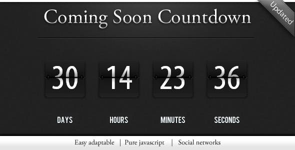 Countdown / construction page